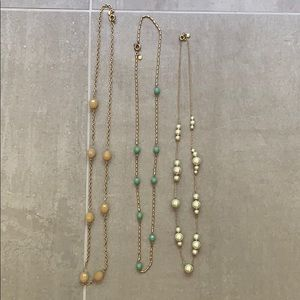 J Crew Long Necklaces - Bundle of Three